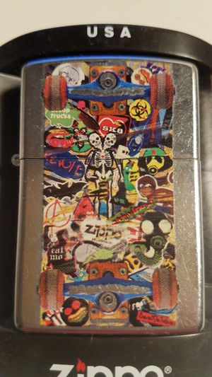 Zippo skateboard graffiti street chrome 24327 for Sale in Los Angeles, CA