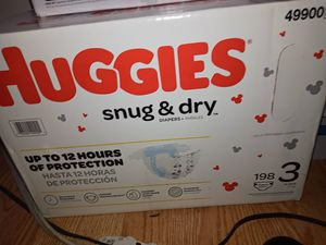 Huggies Size 3 198count for Sale in King of Prussia, PA