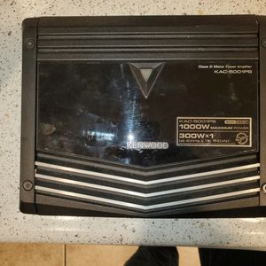 Kenwood 300watt amplifier for Sale in San Diego, CA