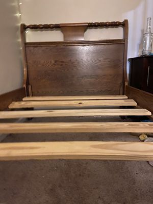 Twin Wood Bed Frame for Sale in Aurora, CO