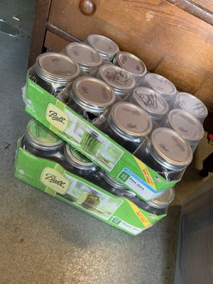 2 Cases of NEW Canning Jars for Sale in Washougal, WA