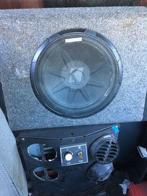 10 inch kicker speaker with a built in Amplifier for Sale in Manassas, VA