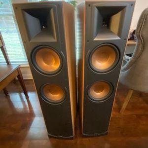 Klipsch RF 35 Speakers 125watts (x2) and Onkyo Receiver for Sale in Austin, TX