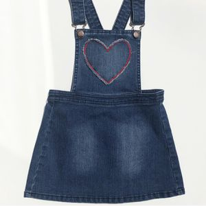 Oshkosh B'Gosh Denim Heart Overall Jumper Dress for Sale in San Antonio, TX