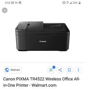 Canon tr4522 all in one printer for Sale in El Cajon, CA