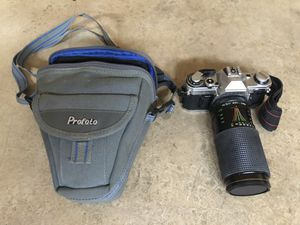 Vintage CANON AE-1 Film Camera with CANON FD 50mm LENS & Carrying Bag for Sale in Roseville, CA