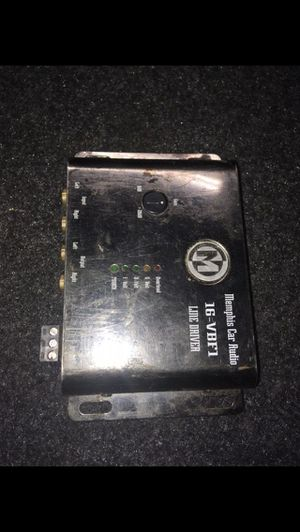 Memphis Audio 16-VBF1 Line Driver for Sale in Indianapolis, IN