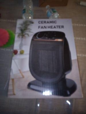 Ceramic fan heater for Sale in Jacksonville, FL