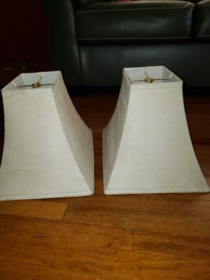 2 lamp shades for Sale in Fresno, CA