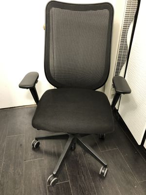 HON Nucleus Chair - Knit Mesh Back Computer Chair with Adjustable Arms, Black for Sale in Los Angeles, CA