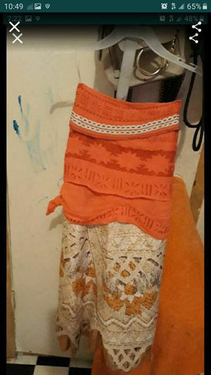 Moana costume for Halloween for Sale in Fort Worth, TX