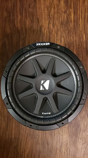 Kicker subwoofer. One 12 and one vintage 15 for Sale in Mesa, AZ