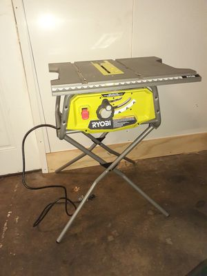 Ryobi 10-inch table saw for Sale in Baltimore, MD
