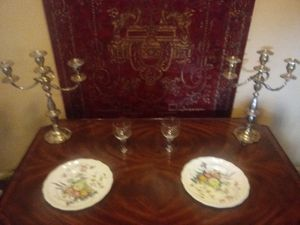 SALE!!! Sterling silver, fine china, Baccarat crystal Antique furniture and more!!! for Sale in Columbus, OH