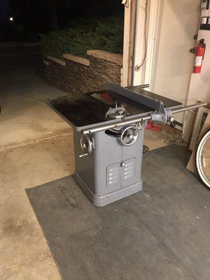 """10"""" Delta UniSaw. 220 volt setup for Sale in Upland, CA"""