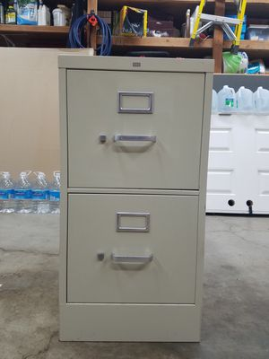 File Cabinet - 2 Drawer, Letter Size, HON Brand for Sale in Martinez, CA
