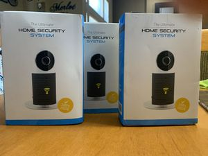 Set of three home security cameras for Sale in Belleville, MI