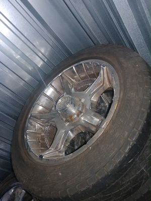 20inch Dodge Rims and Tires for Sale in Twinsburg, OH