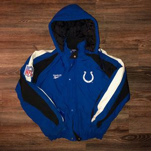 90s VINTAGE REEBOK PRO LINE INDIANAPOLIS COLTS JACKET for Sale in Indianapolis, IN