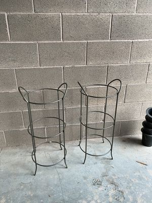 3 TIER GLASS/METAL SHELVES for Sale in Sherwood, OR