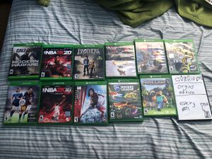 12 xbox games for Sale in Oakland, CA