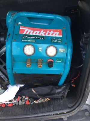 Makita air compressor for Sale in Houston, TX