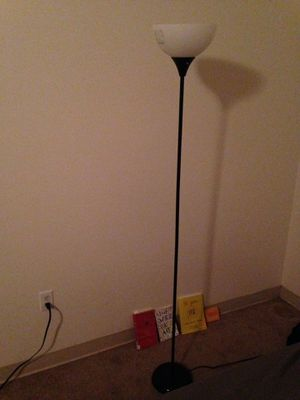 Tall standing lamp for Sale in Denver, CO