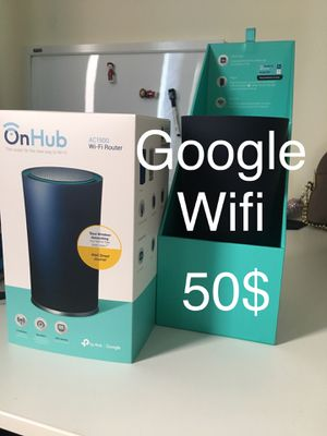 Google TP-Link OnHub WiFi Router AC1900 for Sale in New York, NY