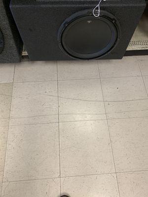 "Jl Audio single (12"") car speaker for Sale in Austin, TX"