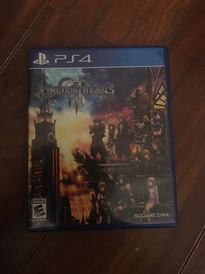 Kingdom Hearts 3 for PS4 for Sale in Apopka, FL