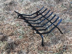 Black steel grate for fire place for Sale in Bend, OR