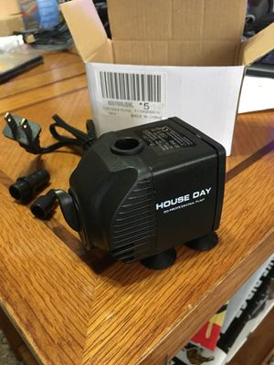 Aquarium Water Pump 173 GPH Submersible Fish Tank Fountain Pond,Hydroponic 12W for Sale in Mansfield, TX
