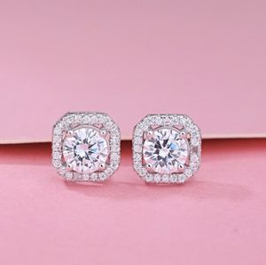 Silver Round Cut White Sapphire CZ Diamond Stud Earrings Wedding Party Jewelry Gifts. for Sale in San Diego, CA