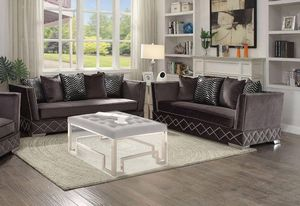 Charcoal sofa and Loveseat for Sale in Los Angeles, CA
