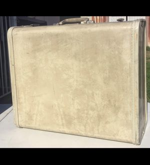 Marbled Ivory Vintage Samsonite Luggage Suitcase for Sale in East Los Angeles, CA