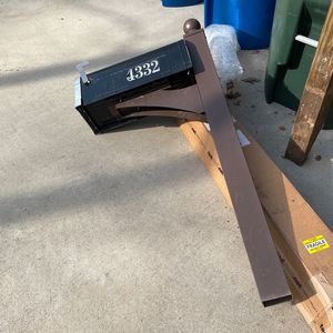 Free- Mailbox And Post for Sale in Raleigh, NC
