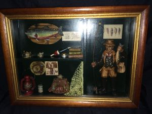 Shadow fisherman's box for Sale in Saint Louis, MO
