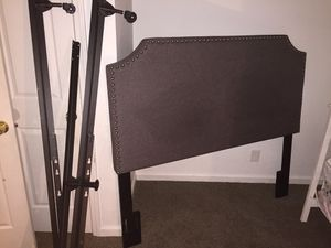 Queen size bed frame n head board for Sale in Indianapolis, IN