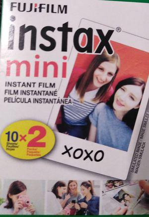 Instax mini film qty 1 pack(10 sheets) for Sale in El Mirage, AZ