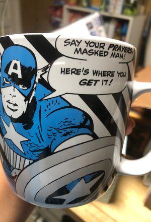 Captain America Mug. for Sale in Baltimore, MD