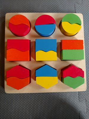 Wood blocks, puzzles for baby kid for Sale in West Windsor Township, NJ