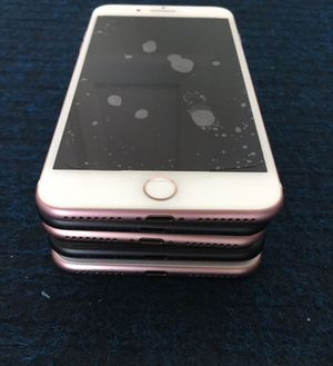 iPhone 7 plus 32GB or 128gb wholesale lot of 5 Unlocked excellent condition for Sale in North Miami Beach, FL