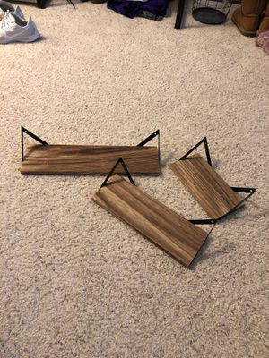 Three-tiered wall shelves for Sale in Fairfax, VA