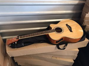 Tygenn Electric Acoustic Guitar, brand new with soft case. for Sale in Garden Grove, CA
