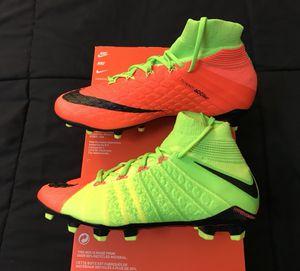 Nike Jr Hypervenom Phantom III 3 DF FG size 5.5y or 5y soccer cleats shoes NEW DS $175! for Sale in San Diego, CA