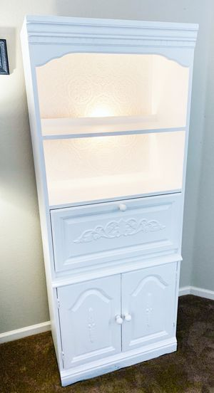 White Bookcase $150 for Sale in Sanford, FL