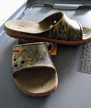 FREE Camo Croc Slides for Sale in Montclair, CA