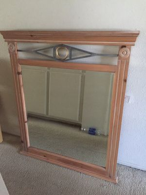 "Custom built Mirror 41"" X 48"" X 3"" by Reed & Son Furniture for Sale in Los Angeles, CA"
