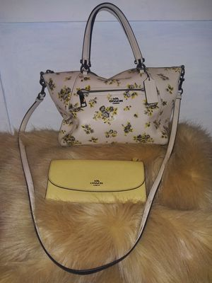 Coach purse & wallet set! for Sale in Portland, OR