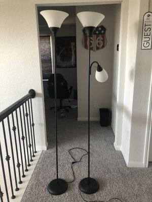 Two Floor lamps for Sale in Round Rock, TX